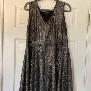 Metallic Torrid Party Dress